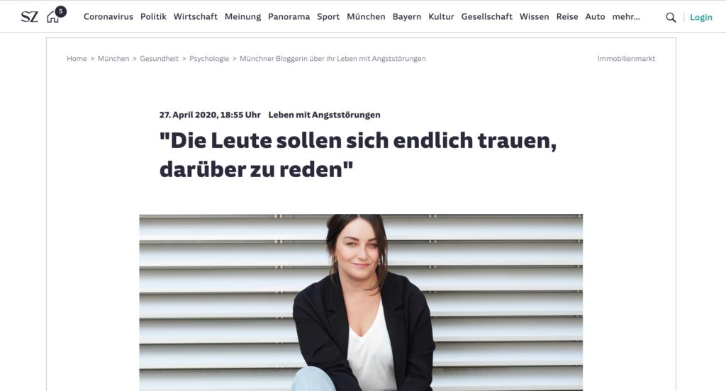 Antonia Wille Süddeutsche Zeitung
